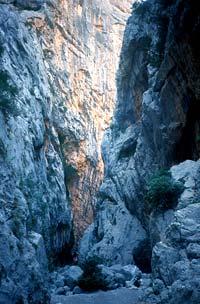 Climbing in Sardinia, Gole di Gorropu