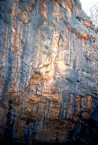 Climbing in Sardinia, Punta Cucuttos