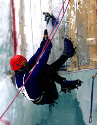 Kim Csizmazia competing at Cortina 2000