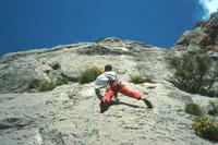 climbing in Sardinia