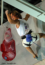 arrampicata, Muriel Sarkany, Climbing World Cup Difficulty