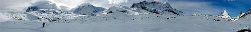 La Venta, Ghiacciaio del Gorner, Monte Rosa (Alpi)