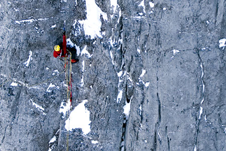 Ueli Steck, The Young Spider, Eiger