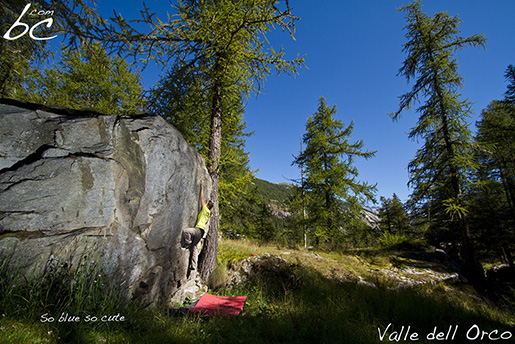 Valle dell'Orco Boulder