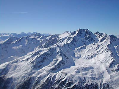 Val Senales skiing ski mountaineering