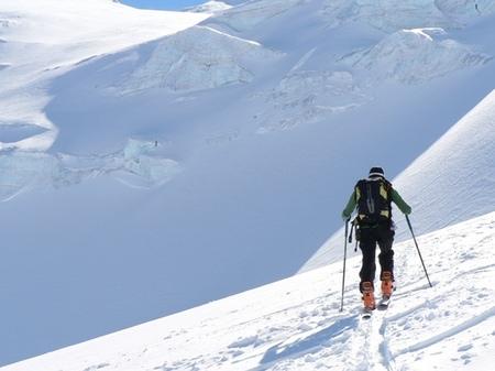 Scialpinismo sul Monte Rosa