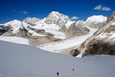 Rolwaling trek e salita del Pachermo, 6273m
