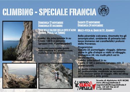 Climbing - Speciale Francia