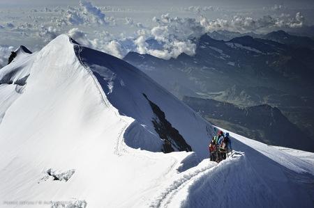 Alpinismo e fotografia: Ascensione del Castore 4226m