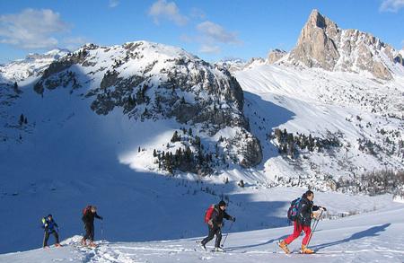 Corso di scialpinismo nelle Alpi Orientali e Centrali