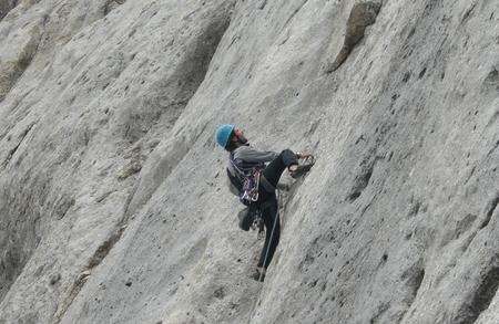 Pratica alpinistica nel cuore delle Dolomiti