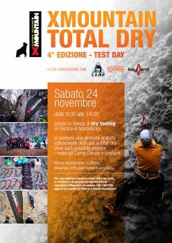 Test Day Total Dry a Ferrara di Monte Baldo sabato 24 novembre