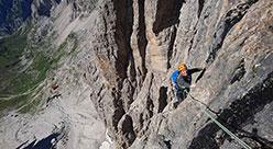 Corso di Arrampicata Multipitch Alpine