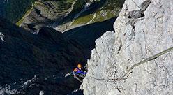 Settimana di pratica alpinistica nel cuore delle Dolomiti
