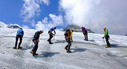 Ghiacciai e traversate - Corso base di alpinismo in ghiacciaio