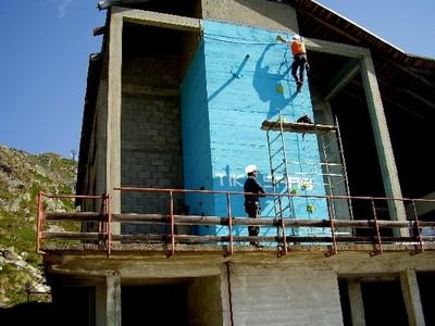 Nuova scuola di arrampicata ad Oropa