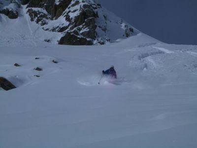 Freeride sul Monte Rosa