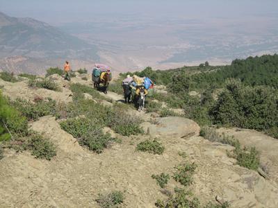 Scialpinismo in Marocco