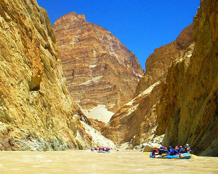India - Rafting sullo Zanskar