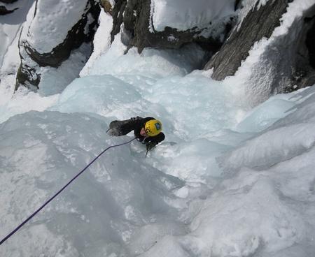Corso di arrampicata su ghiaccio Livello base