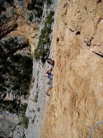 Giardini di Provenza, arrampicare ad Aiglun