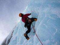 Norvegia Ice climbing
