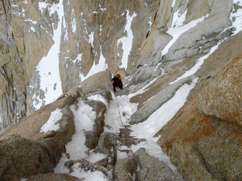 Exiting pitch 14, Sergio De Leo