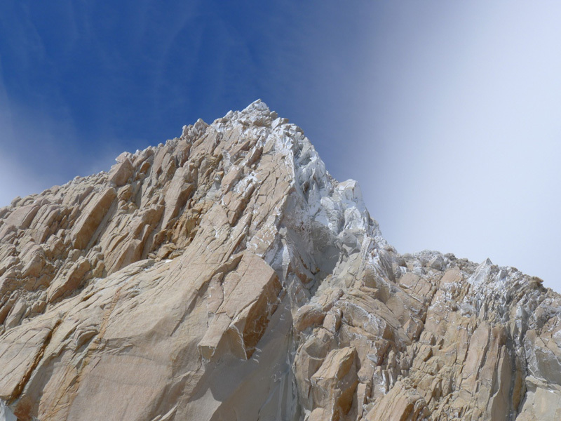 The summit of Fitz Roy from pitch 14, Damiano Barabino