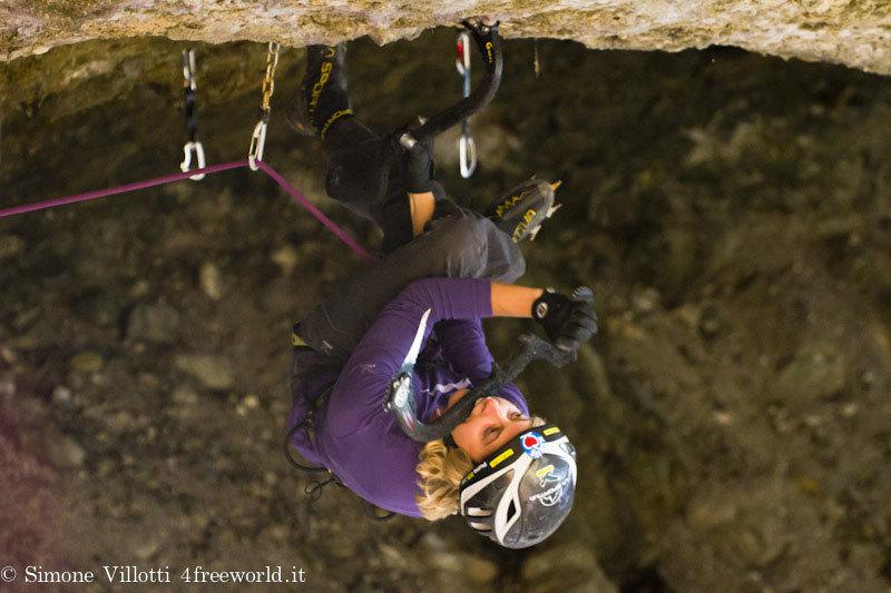 Angelika Reiner, M10 alla Grotta del Lupo, Domegge di Cadore, Simone Villotti