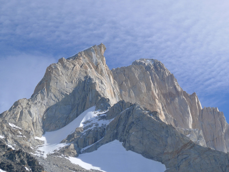 Aguja Guillaumet and Fitz Roy seen from Piedra Negra , Damiano Barabino