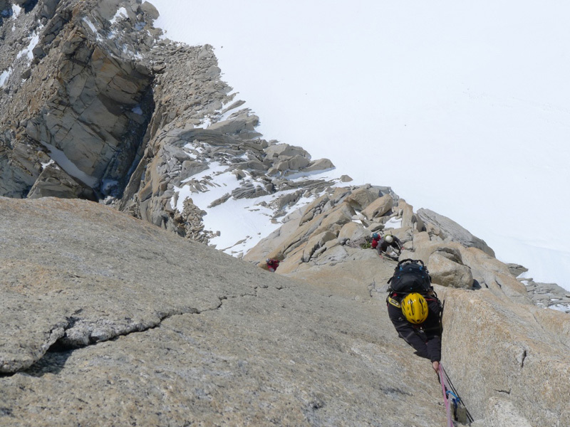 Exiting pitch 5, Damiano Barabino
