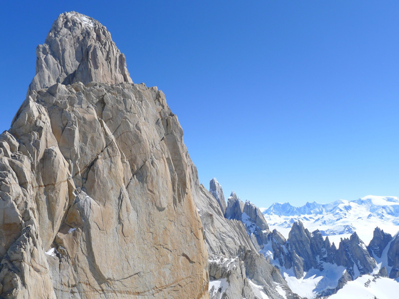 Fitz Roy seen from the summit, Damiano Barabino