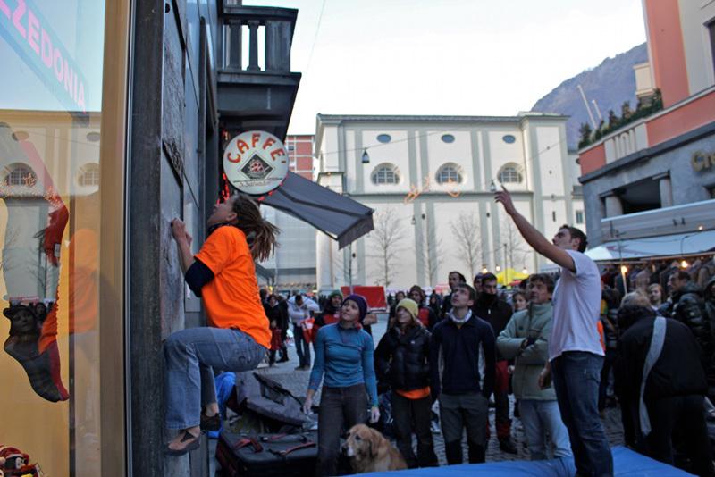 Sondrio Street Climbing 2011: pane cracker, Luca Maspes