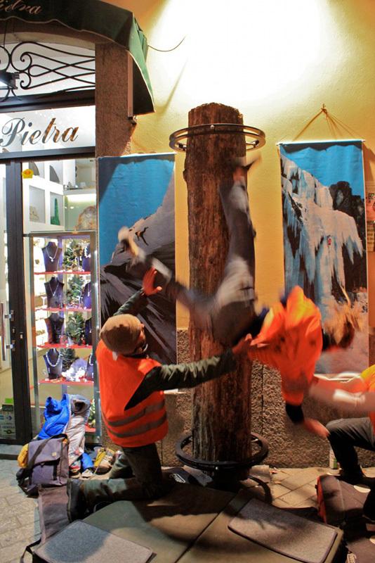 Sondrio Street Climbing 2011: Paola Radice, Luca Maspes