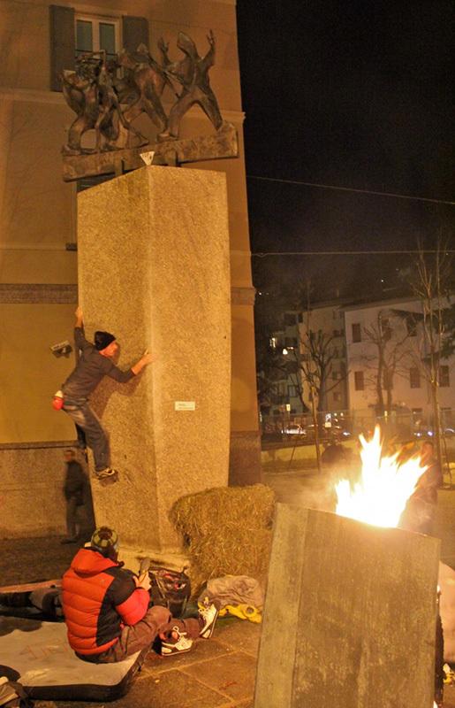 Sondrio Street Climbing 2011: Rudy Colli, Luca Maspes