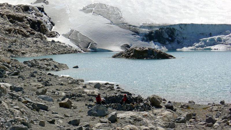 Aguja Poincenot, Patagonia. Bivacco alla Laguna de los Tres, Christian Türk