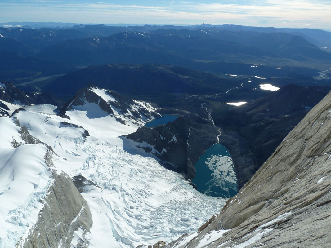 Aguja Poincenot, Patagonia. Laguna de Los Tres e Laguna Sucia, Marcello Sanguineti