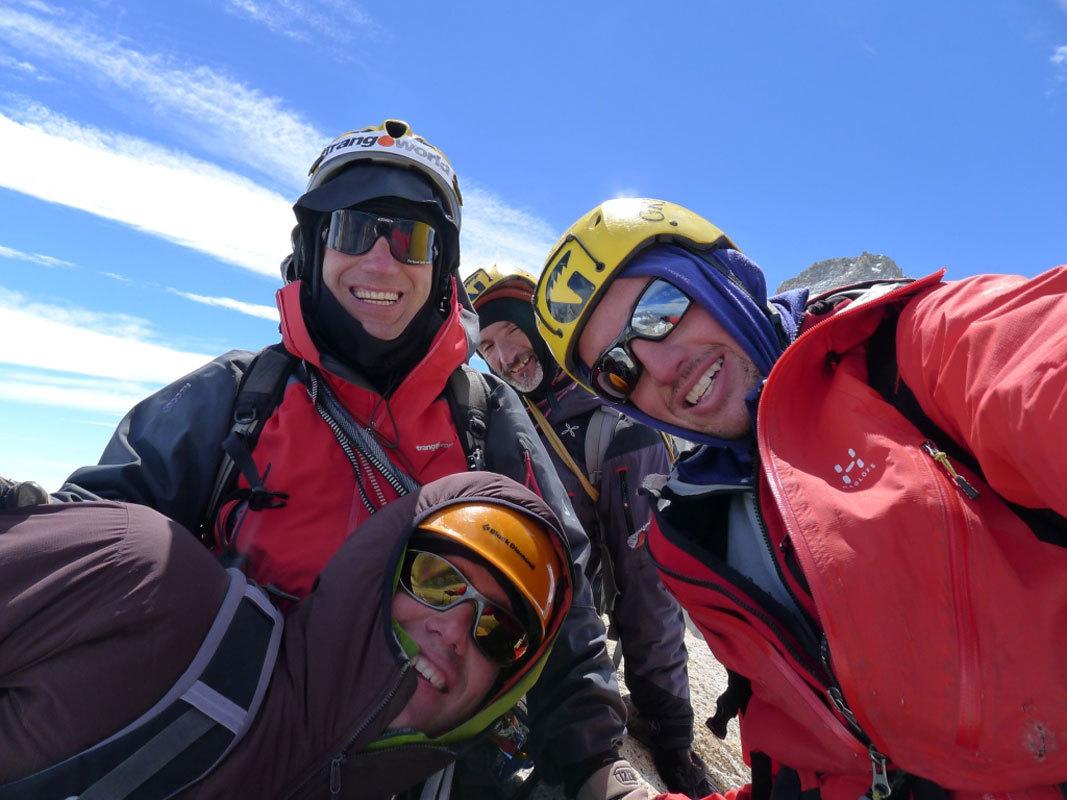 Aguja Poincenot, Patagonia. Cumbre!!, Damiano Barabino