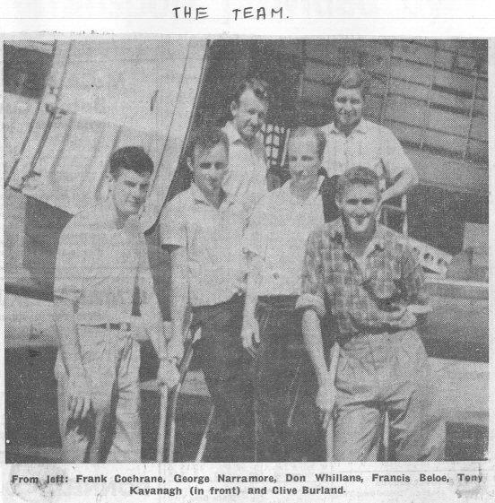 I membri della spedizione del 1962, fonte Irish Indipendent