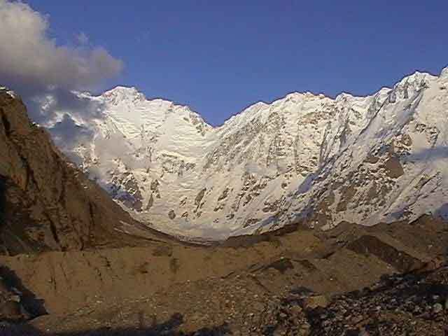 Nanga Parbat seen from the glacier, arch. S. Moro
