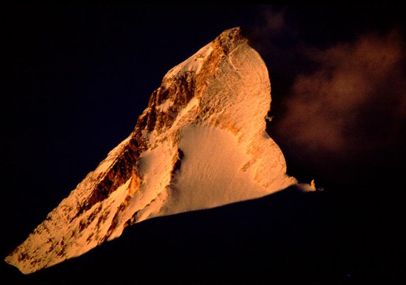 Khan Tengri (7010m)., Simone Moro