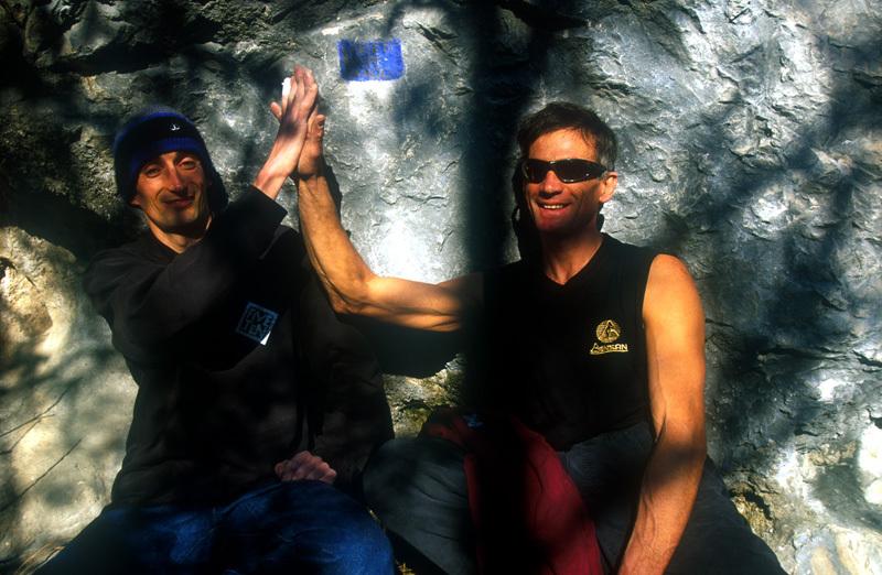 Riccardo 'Sky' Scarian and Maurizio 'Manolo' Zanolla , Daniele Lira