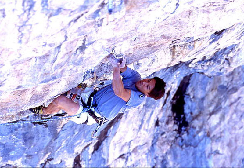 Yuji Hirayama climbing Kryptonite 5.14 d / 9a, The Fortress, Olivier Appourchaux