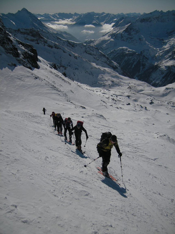Langschneid (2688m): the final meters to reach the summit, Guide Alpine Kals am Großglockner