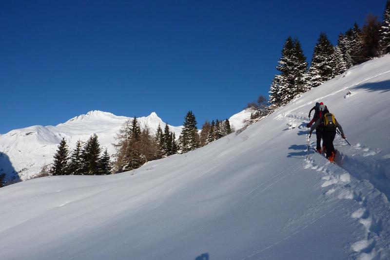 Hochgasser (2922m): sopra il Matreier Tauernhaus, Guide Alpine Kals am Großglockner