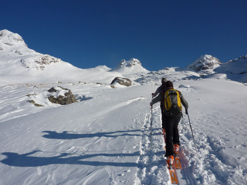 Hochgasser (2922m): above the Grünseehütte, Guide Alpine Kals am Großglockner