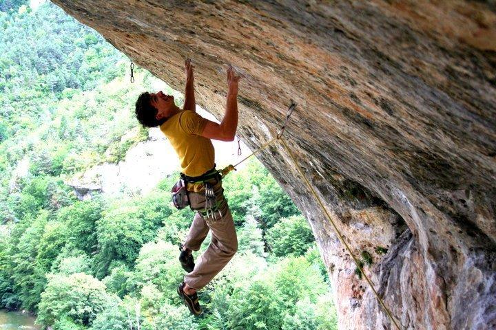 Climbing at Gorges du Tarn