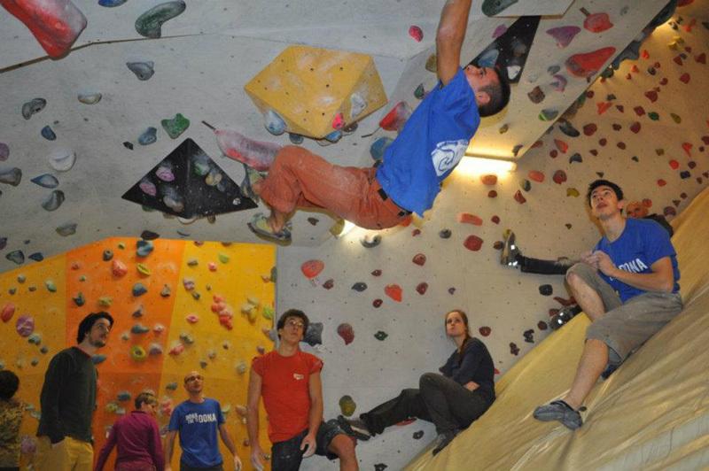 Boulder fino alla fine del mondo, 20 gennaio 2012: primo assalto al Drago. Francesco Carta., King Rock
