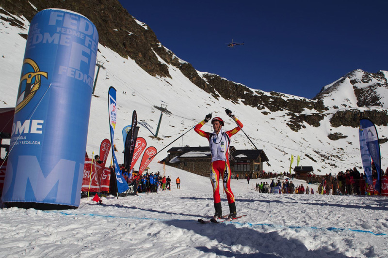 Ski mountaineering World Cup 2012: Burgada and Roux win in Andorra, ISMF