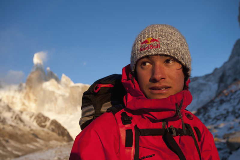 L'austriaco David Lama, Corey Rich/Red Bull Content Pool